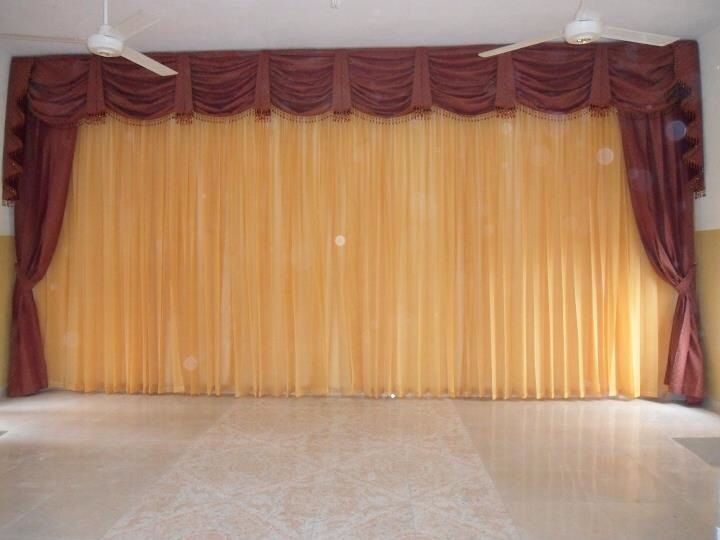 Cortinas para iglesia cortinas para iglesias pinterest - Remate de cortinas ...