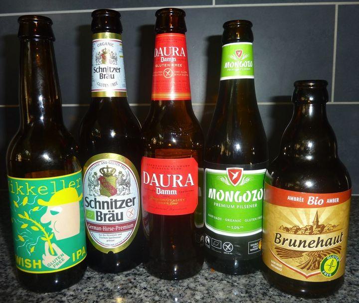 Review: 5 x glutenvrij bier