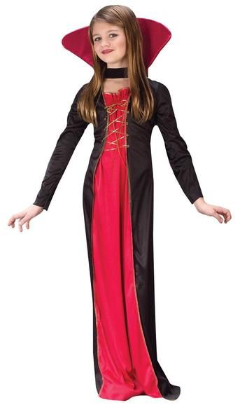 Quatang Gallery- Victorian Vampiress Chld 12 14 With Images Halloween Costumes For Girls Girls Vampire Costume Halloween Kids Costumes Girls