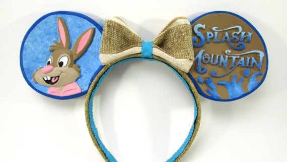 Splash Mountain Inspired Mouse Ears Custom Disney by MiceCouture