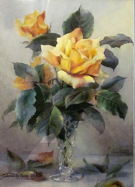 Gallery.ru / Фото #1 - Цветочная акварель. Jack Carter. - Anneta2012