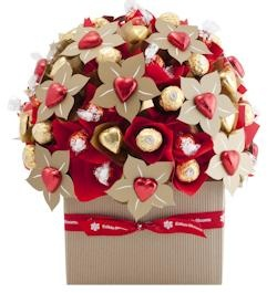 Queen of Hearts featuring a whopping 70 of everyone's favourite chocolates, Ferrero Rocher, Milk Lindt and Belgian chocolates from Chocolatier.