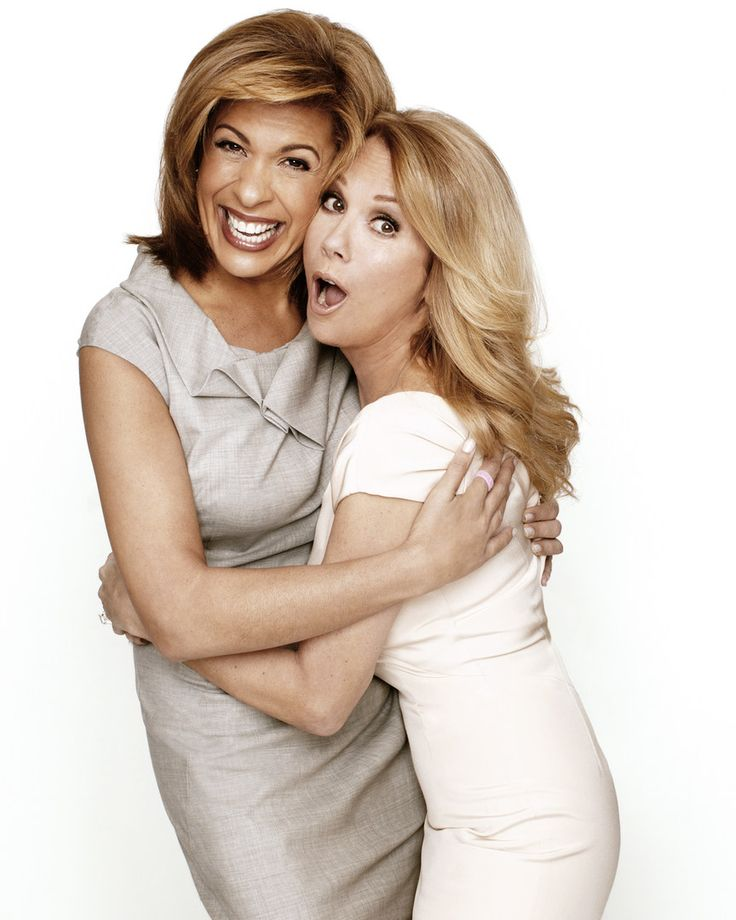 Kathie Lee Gifford & Hoda Kotb - Photographed by Brian Doben