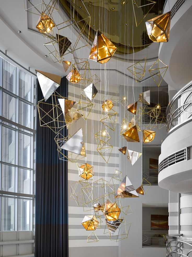 The Biggest Lighting Installation In Sheraton Dubai Mall Of Emirates