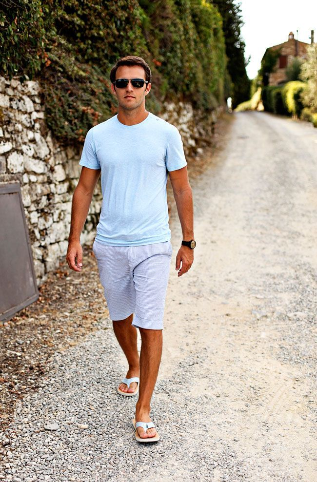 Tuscany Part 2 Shoes With Shorts Mens Fashion Casual Summer