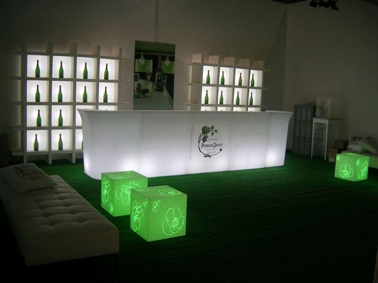 break bar. light furniture by slide at terraform
