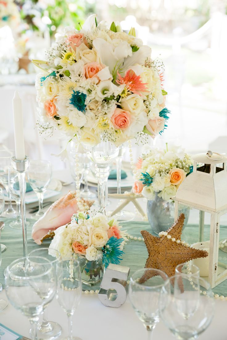 Amazing Fish In Wedding Centerpieces Collection Wedding Idea 2018