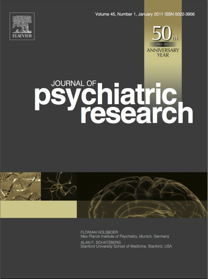 Публикации в журналах, наукометрической базы Scopus   Journal of Psychiatric Research #Psychiatric #Research #Journals #публикация, #журнал, #публикациявжурнале #globalpublication #publication #статья
