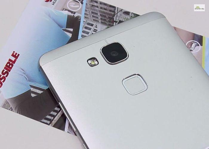 Huawei Ascend Mate 7 detalle huella camara