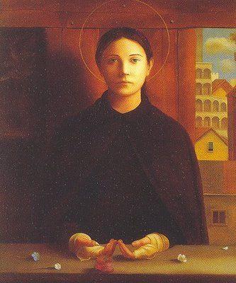 St. Gemma Galgani (1878-1903) One of the best documented cases of the stigmata