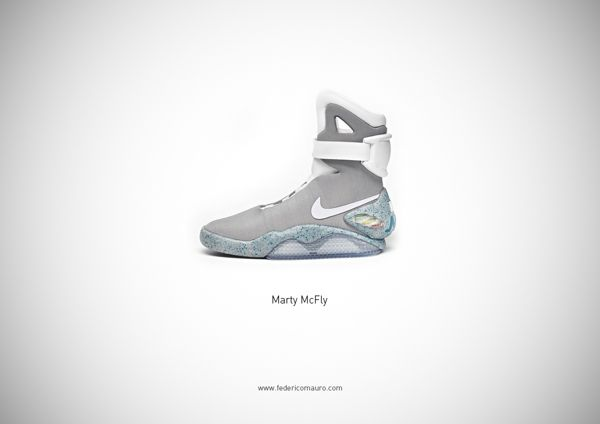 Iconic Footwear Perfectly Symbolize Famous Personalities - Marty McFly