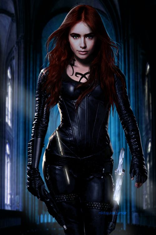 Clary Fray – Shadowhunter.  Im so excited for this movie to come out! Pleasepleaseplease don't be another Percy Jackson fiasco...