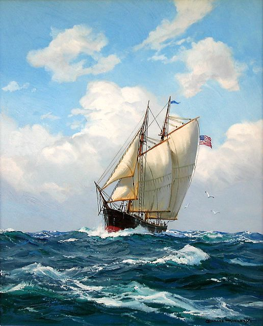 Charles Vickery: Original Paintings: Item# 15492-VAD-010