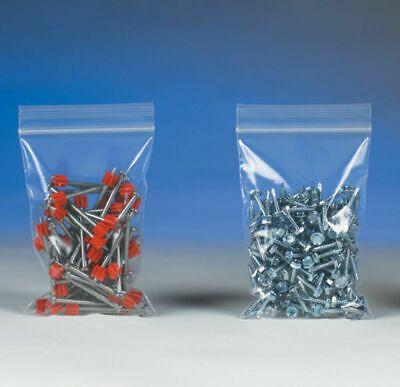 "1000 Reclosable Plastic Bag 10/""x12/"" 2mil Zip Lock"