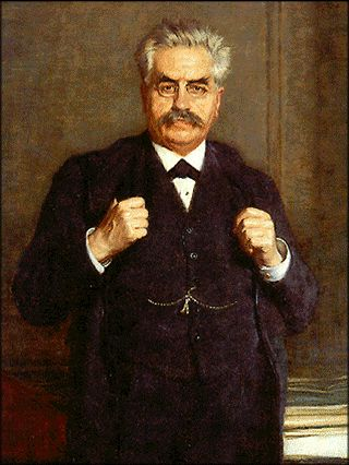 Alexandre Millerand (1859-1943) president de la republique de 1920 a 1924 premier socialiste a entrer dans un gouvernement