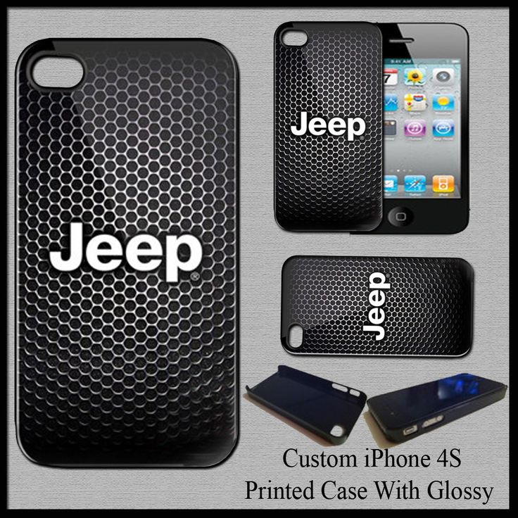New Hot Jeep Adventure Automotive Cover Hard Case For iPhone 4S Fit For Gift