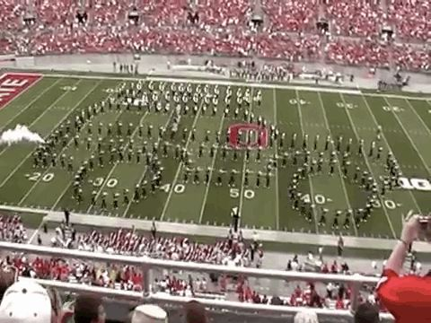 And drive a car across the field: | This Is Why Ohio State University's Marching Band Is Actually The Best Damn Band In The Land