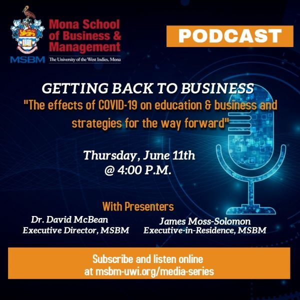 Introducing The Msbm Business Review Media Series Business Reviews Business Podcasts Business Management