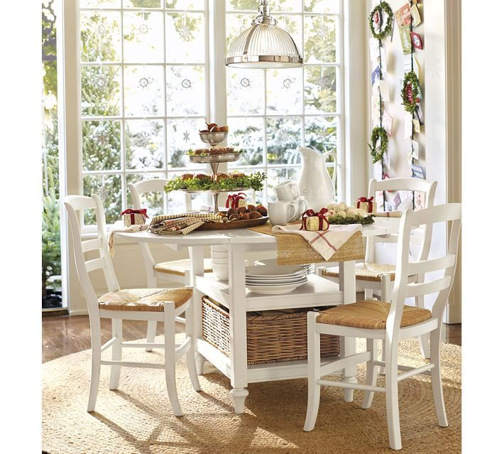 Shayne drop leaf kitchen table kitchen tables products and pottery - Shayne kitchen table ...