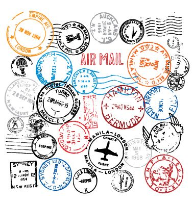 Free postmarks vector on VectorStock®