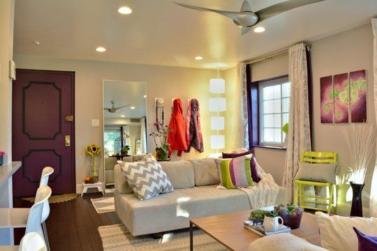 """Marissa's """"Radiant Plum"""" Room — Room for Color Contest 