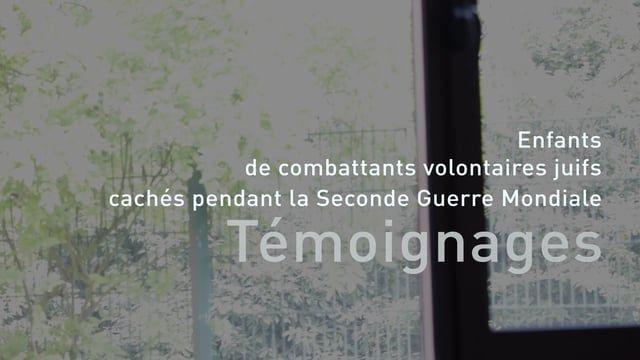 Enfants de combattants volontaires juifs, cachés pendant la Seconde Guerre Mondiale.  Documentaire / Recueil des témoignages de Suzanne Grinblatas et Henri Stainber dans le cadre des activités de l'association UEVACJ-EA (Union des Engagés Volontaires, Anciens Combattants Juifs, leurs Enfants et leurs Amis). Filmé le 6 juin 2016 au collège Claude Monet, Bussy Saint Georges lors de la commémoration du 72ème anniversaire du D-Day.  Réalisation, Montage & Musique : Benjamin Sachs Avec l'ai...