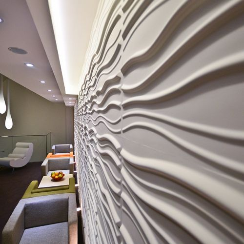 Sands design by WallArt. Add depth and life to your walls!