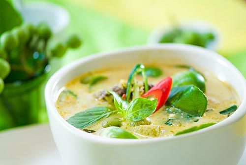 Delicious Thai Green Curry with Chicken