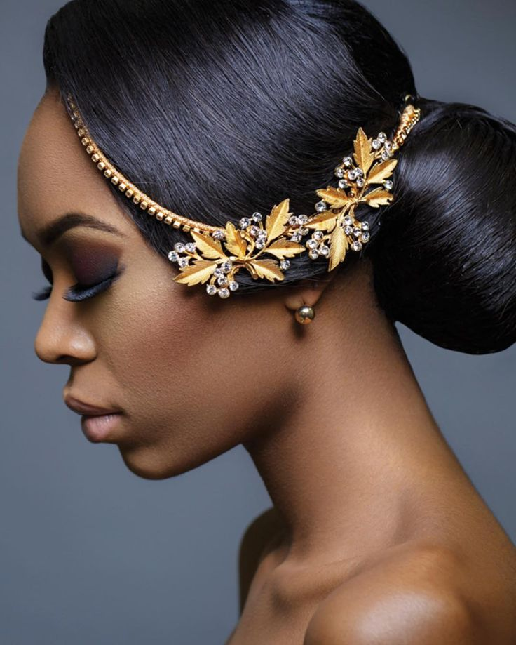 African Wedding Headpieces: 25+ Gorgeous Afro Wedding Hair Ideas On Pinterest