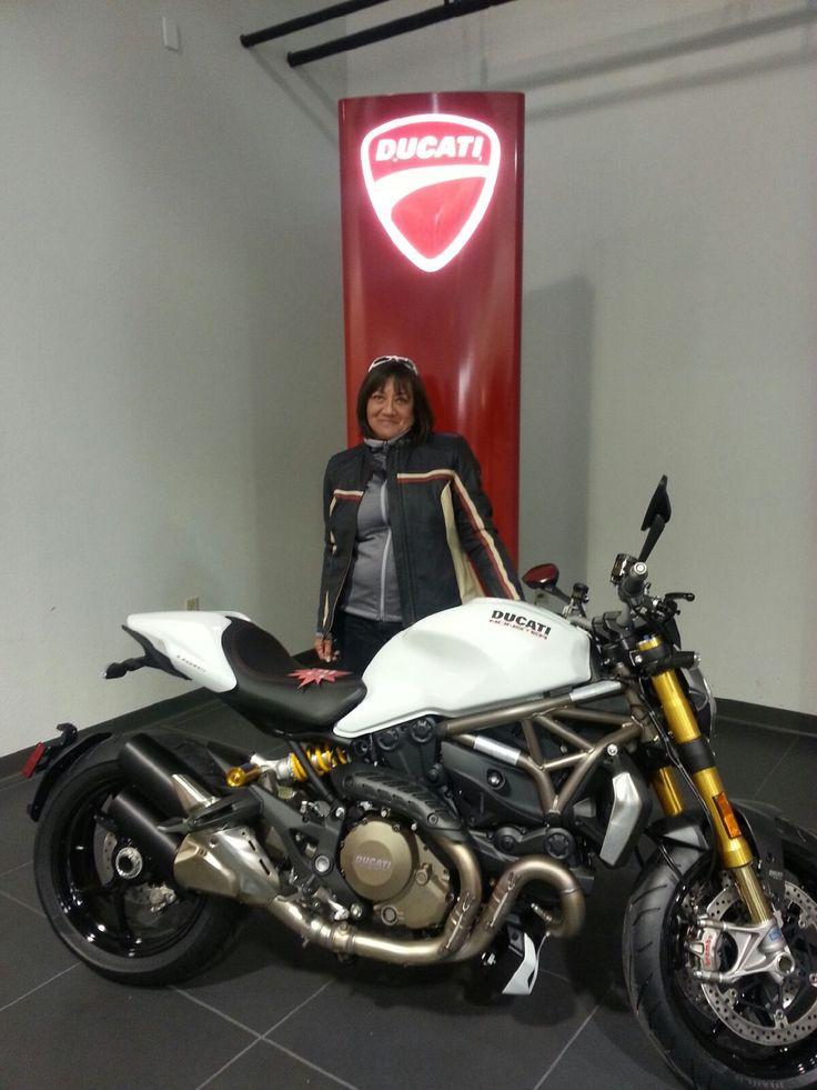 2015 Ducati 1200S Monster - my new ride!
