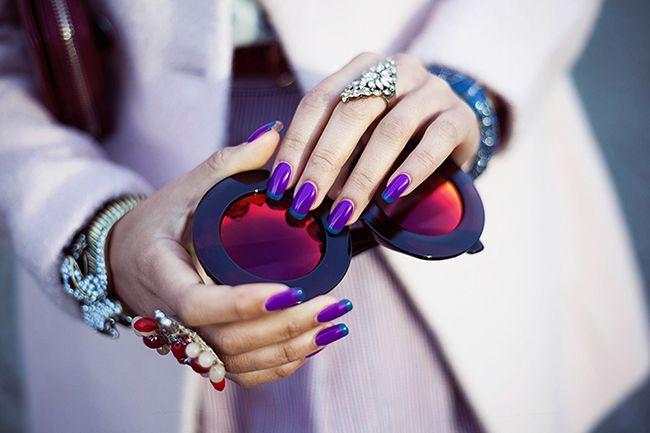 Создай свой стиль - Лучшие цветовые сочетания лака для ногтей и одежы. Советы, проверенные временем.