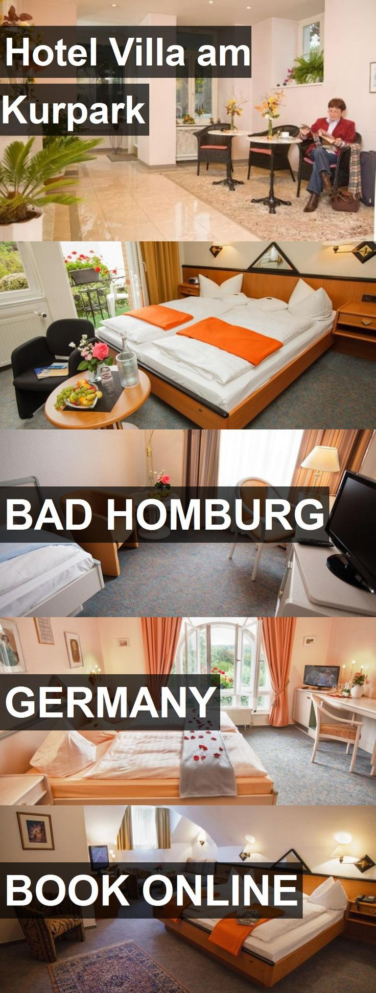 Hotel Hotel Villa am Kurpark in Bad Homburg, Germany. For more information, photos, reviews and best prices please follow the link. #Germany #BadHomburg #HotelVillaamKurpark #hotel #travel #vacation