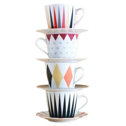 Brakig coffee cup, IKEA   Geometric Print Homeware