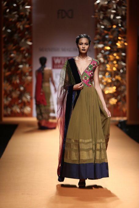 Manish Malhotra Wills India Fashion Week 2013 #manishmalhotra #wifw #churidaar