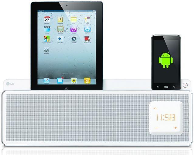 LG ND5520 aktív dokkoló hangfal Androidos és iOS készülékekhez