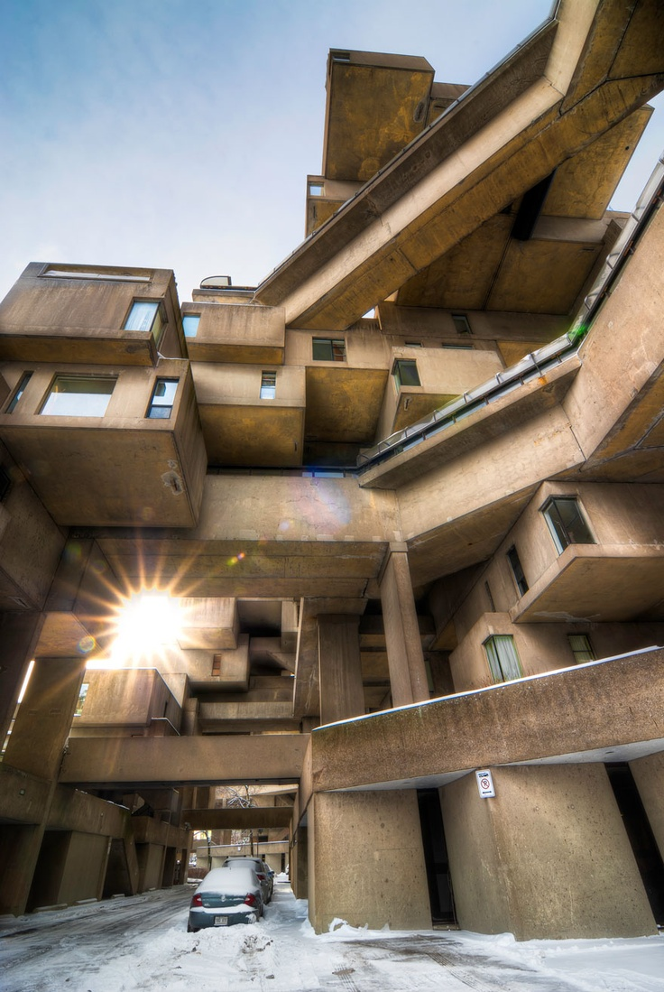 Habitat 67 montr al architecture contemporary for Habitat 67 architecture