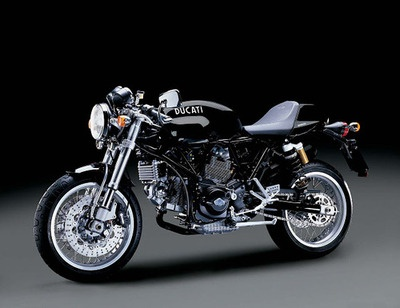 Motorcycle ~ Tron Ducati Legacy ~ Return Of The Cafe Racers