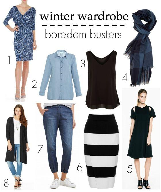 Winter wardrobe boredom busters