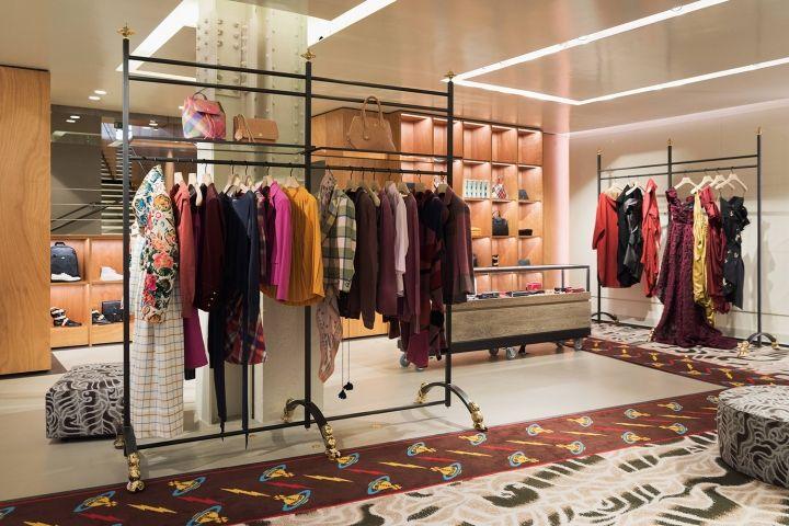 Vivienne Westwood flagship store by Fortebis Group, Paris – France » Retail Design Blog