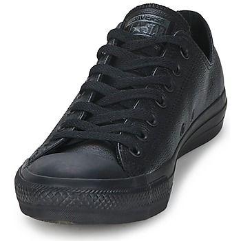 Nizke tenisky Converse ALL STAR LEATHER OX Černá 350x350