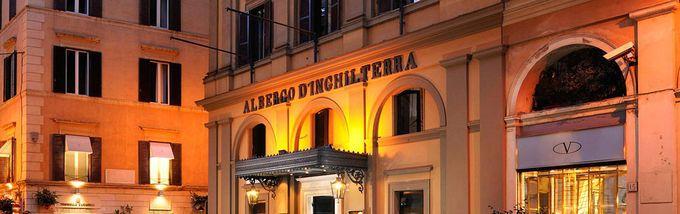 Hotel d´Inghilterra (Via Bocca di Leone, 14). Muy cerquita del centro, la atención por parte del personal es inmejorable. Decoración clásica con guiños a los maestros del arte italiano. 100% recomendable. http://www.harpersbazaar.es/blogs/my-lightstyle/48-horas-en-roma