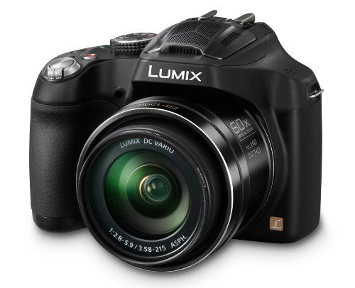 Panasonic LUMIX DMC-FZ70 16.1 MP Digital Camera with 60x Optical Image Stabilized Zoom and 3-Inch LCD (Black), 2016 Amazon Top Rated Point & Shoot Digital Cameras  #Photography
