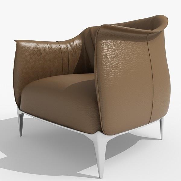 Archibald chair by Poltrona Frau