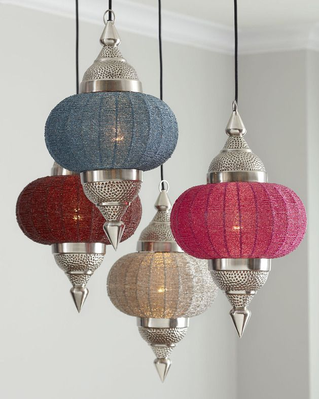 Indian Inspired Lighting   The Manak Pendant Lamp By Horchow Is Exotically  Ornate (GALLERY) Lanterns Are Divinely Boho Chic