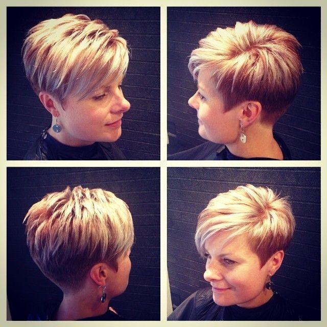 peinados cortos modernos con cabello delgado cortes de pelo - Pelos Cortos Modernos
