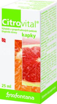 Fytofontana Citrovital kvapky 25ml