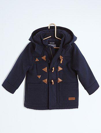 Duffle-coat style lainage à capuche                              bleu marine Petit garçon