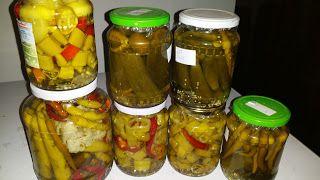 Boros Valéria: Uborka, és paprika savanyítás hidegen tartósitó nélkül!!!!