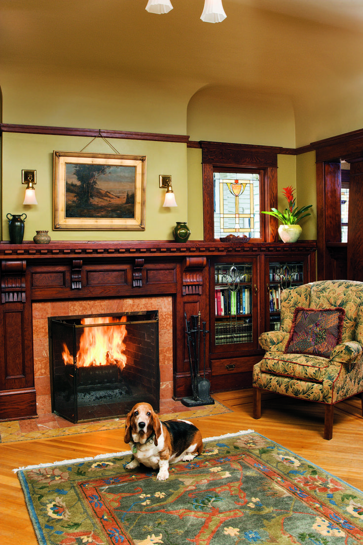 383 best images about Craftsman Interiors on Pinterest