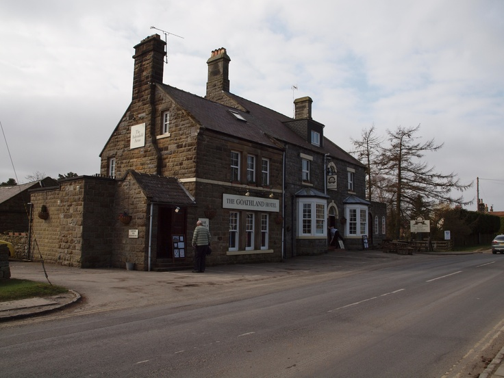 Goathland Hotel in Aidensfield (pub used in Heartbeat)